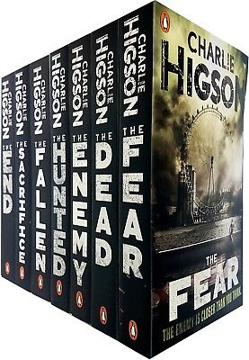 The Enemy Series Collection Charlie Higson 7 Books Set Enemy, Dead, Sacrifice