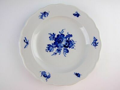 Meissen China BLUE FLOWER & INSECTS BLAUE & BLUME Salad Plate(s) EXCELLENT
