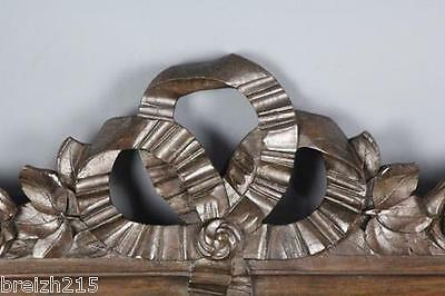 Antique hand  Carved Wood  Architectural Pediment   19th century