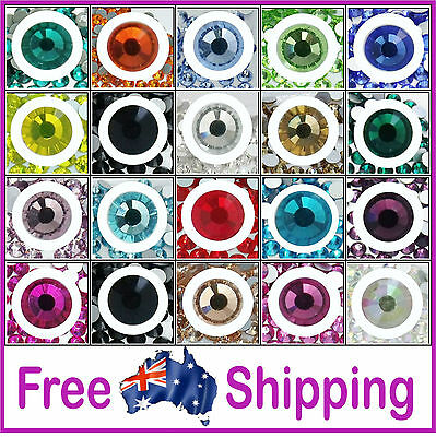 AAA Quality Glass Rhinestones HOT FIX ~ Value Priced by Gypsy Bling- Free Post