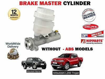 For Mitsubishi L200 Pickup 2.5Dt Did Kb4 4D56T 2006-->New Brake Master Cylinder