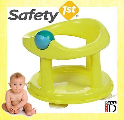 Safety 1st Swivel Bath Seat for Baby LIME Green Bath Seat Chair *BRAND NEW*