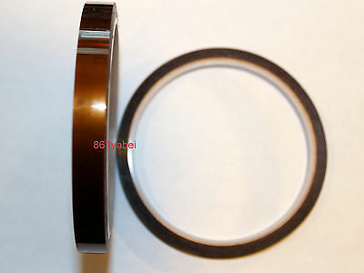 "Gold 13mm Kapton-Tape Polyimide High Temp 1/2"" x 36yds 13mm; US ship"