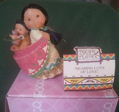 Friends of the Feather Bearing Lots of Love 11592 Enesco