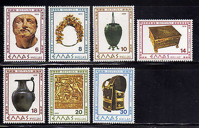 GRECIA/GREECE 1979 MNH SC.1306/1312 Archeology