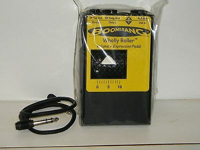 New Boomerang Wholley Roller Volume/Expression Pedal