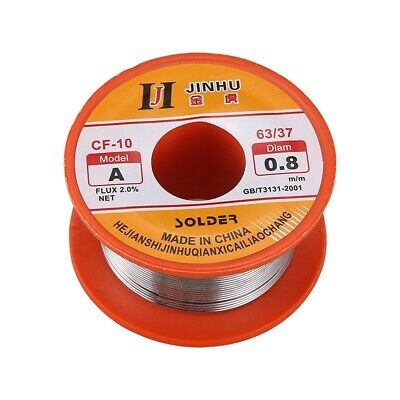 Tin Le Solder Core Flux Soldering Welding Wire Spool Reel 0.8mm 63/37 N3