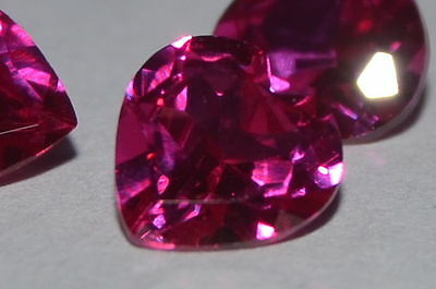 A Single Gorgeous 6mm IF Heart Cut Genuine Red Ruby!!!