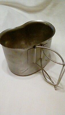 US Army Stainless Steel Nesting Canteen Cup Cover