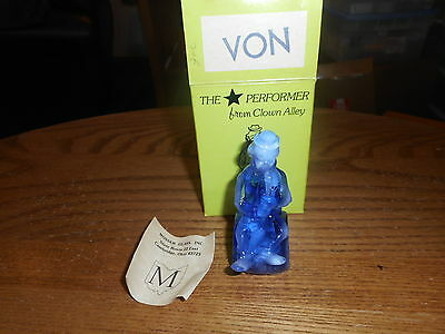 Von Mosser Clown Alley Collectible Figurine With Box