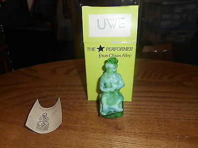 Uwe Mosser Clown Alley Collectible Figurine With Box