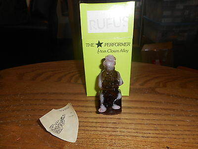 Rufus Mosser Clown Alley Collectible Figurine With Box
