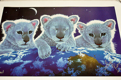 Schimmel Secret Home & Mystery Giclee Signed By Artist/siegfried/roy #18/695 Coa