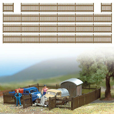 Busch 6007 NEW 120CM PICKET FENCING