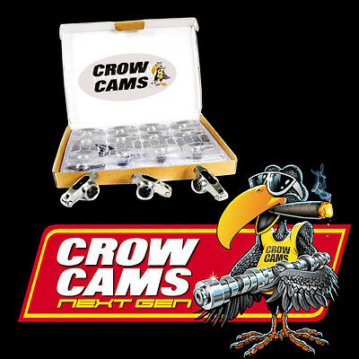 "Crow Cam Roller Rockers Ford V8 289 302 351 Windsor 3/8"" stud 1.6RR CRFW163"
