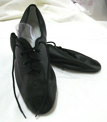 BLOCH JAZZLITE Full Sole Leather Jazz Dance Shoes, Black, Adult Sizes, New