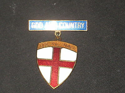 God and Country, God and Family Religious Award Medal      ES