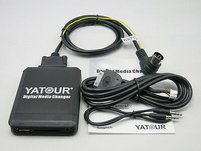 Yatour Car Digital Music Changer Ipod USB SD MP3 fit for Volvo C70 S40 S60 S80