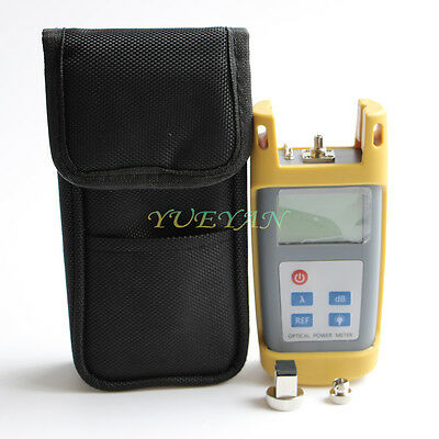 Handhold Fiber Optic Testing Tool Optical Power Meter -70~+10 dBm SC/FC Adapters