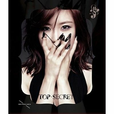 JUN HYO SEONG-[TOP SECRET] 1st Single Album CD+44p Photo Book+Card K-POP Sealed