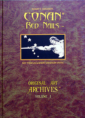 RE Howard's Conan: Red Nails by Barry Windsor Smith Archive edition