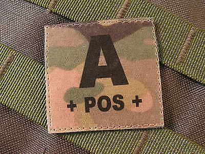 Patch Velcro ..:: A + POS + ::.. MULTICAM