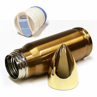 500ml Bullet Shaped Insulated Stainless Steel Vacuum Flask