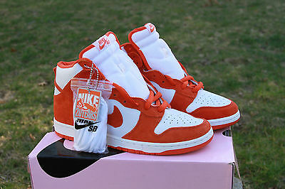 detailed look 5b46d bee7c NIKE SB DUNK HIGH (SYRACUSE) 305050-181 DeadStock (PINK BOX)