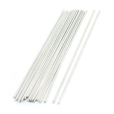 20Pcs Stainless Steel Round Shaft Rod Axles 150mmx2mm for RC Toy Car N3