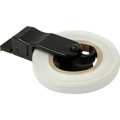 Motorcycle Bike Wheel Stripes Rim Tape & Applicator Reflective White