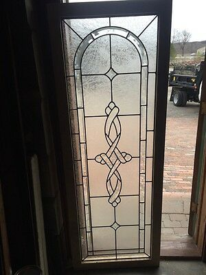 Sg 693 Antique Textured Glass Beveled Glass Window