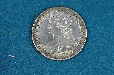 Great Estate Find!! 1827 Capped Bust Liberty HALF!! C4575