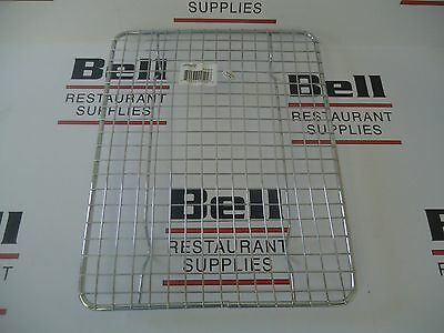 "*NEW* Update PG810 1/2 Size Pan Grate, 8"" x 10"", Chrome Plated - FREE SHIP!"