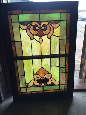 Sg 700 For Antique Stainglass Window Sunup Sundown