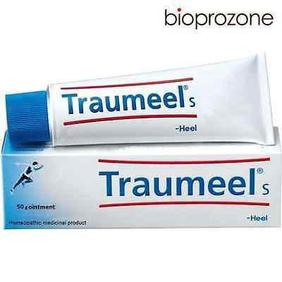 50g Traumeel S Homeopathic Ointment Anti-Inflammatory Pain Relief Analgesic HEEL