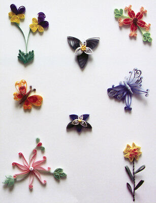 Lake City Craft Quilling Kit - Flowers & Butterflies