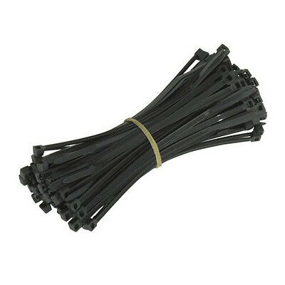 Strong Black White & Natural Cable Ties Wraps Zip Ties 2.5 x 100mm 100pcs N3