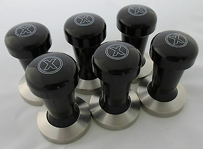 "COFFEE TAMPER.58mm.S/STEEL.""BLACK"".RRP $99..ESPRESSO/COFFEE TAMPER."