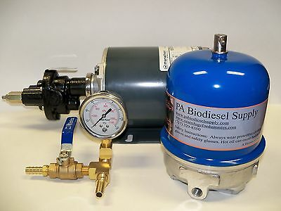 108 GPH OIL CENTRIFUGE / MOTOR PACKAGE for WVO / OIL and Biodiesel