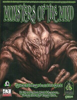 d20: Monsters of the Mind (New)