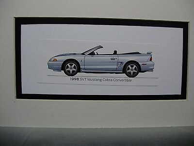 1998  Ford Mustang  SVT COBRA Convertible  From  50 Year Anniversary Exhibit