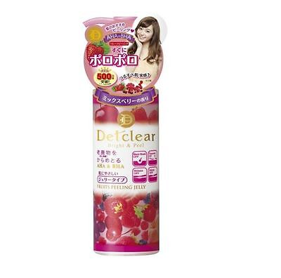 New Meishoku Japan Detclear Bright &Peel Fruit peeling Gel AHA BHA Mixed Berry