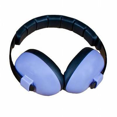 NEW Baby Banz Purple Earmuffs Soft Cup Ear muffs Kids Babies Infant Protectors