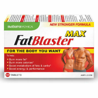 Fat Blaster Max 60 Tablets - Weight Loss Support