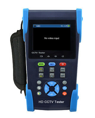 "3.5"" Screen HD-AHD/CVI/TVI/SDI Camera CCTV Tester Monitor CVBS Test PTZ Control"