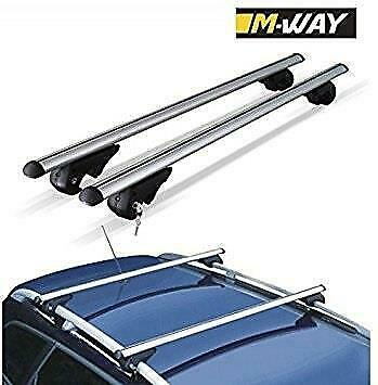 MAZDA 6 Estate 2013 on M-Way ROOF AERO BARS RACK ALUMINIUM LOCKING CROSS RAILS