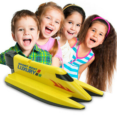 High Speed Power 2.4G RC Racing Radio Remote Control Boat Toy with Transmitter