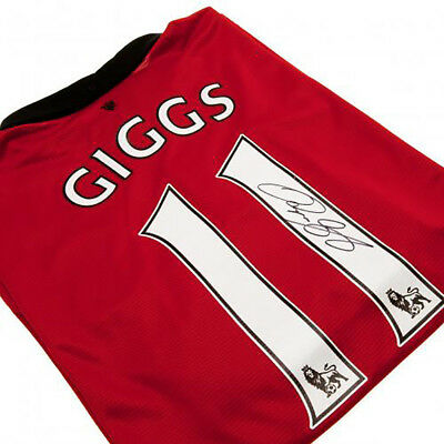 Ryan Giggs - Signed Manchester United F.C Shirt
