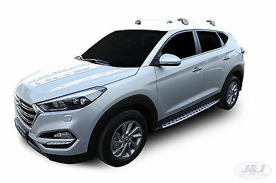 RB035 Side steps HYUNDAI TUCSON 2015-up OEM style  Running Boards