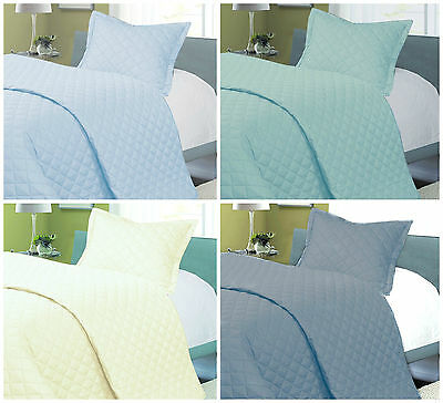 Egyptian Cotton Baby Quilted Bedspread/ 2.5 Tog Duvet/ Blanket